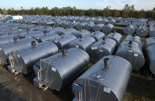 Used Milk Cooling Tank For Sale